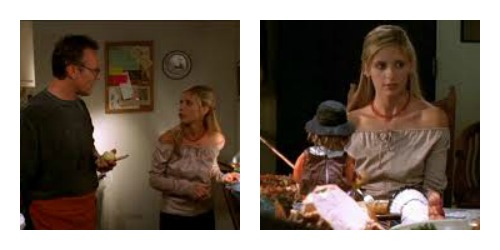 Buffy thanksgiving collage