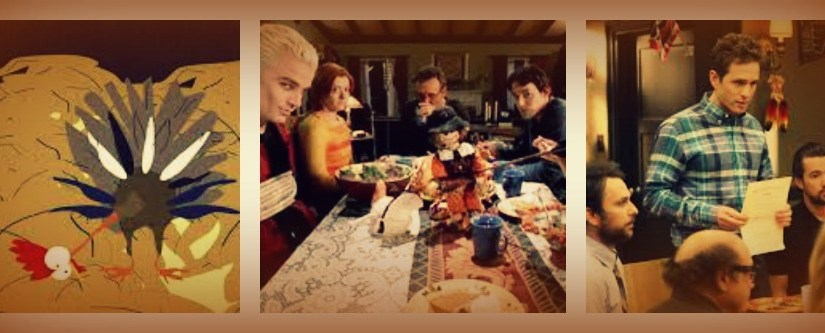 """Ranking my top 5 Thanksgiving TV Episodes:  """"It's a Ritual Sacrifice with Pie"""""""