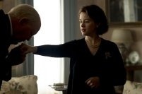 John Lithgow and Claire Foy in The Crown