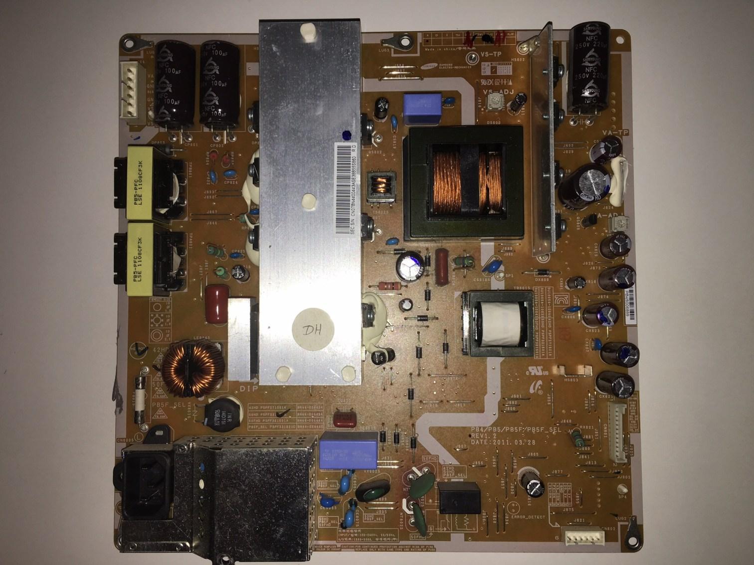 Samsung BN44-00443A (PSPF331501A) Power Supply Unit