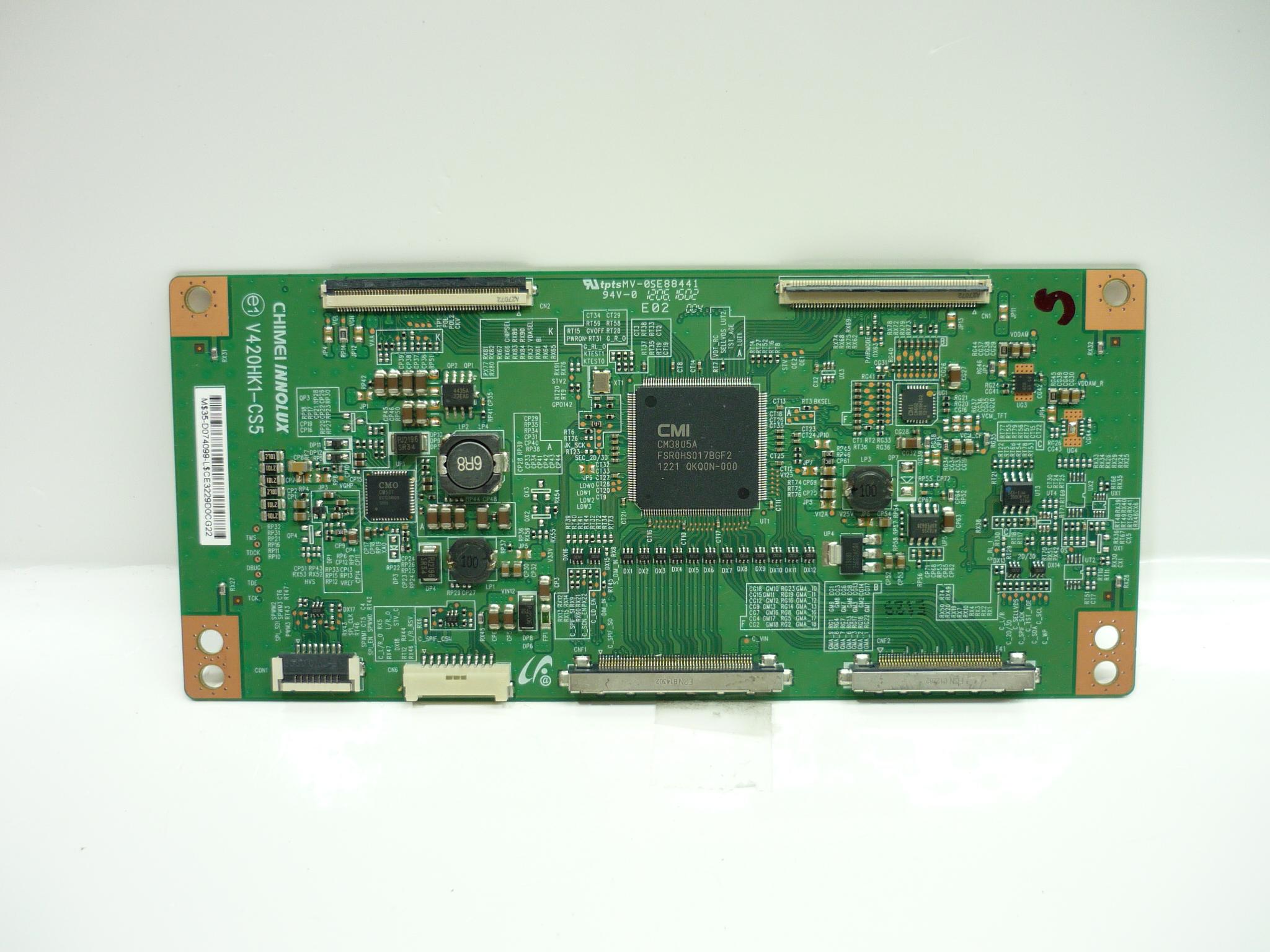 Toshiba 35-D074099 (V420HK1-CS5) T-Con Board for 50L5200U