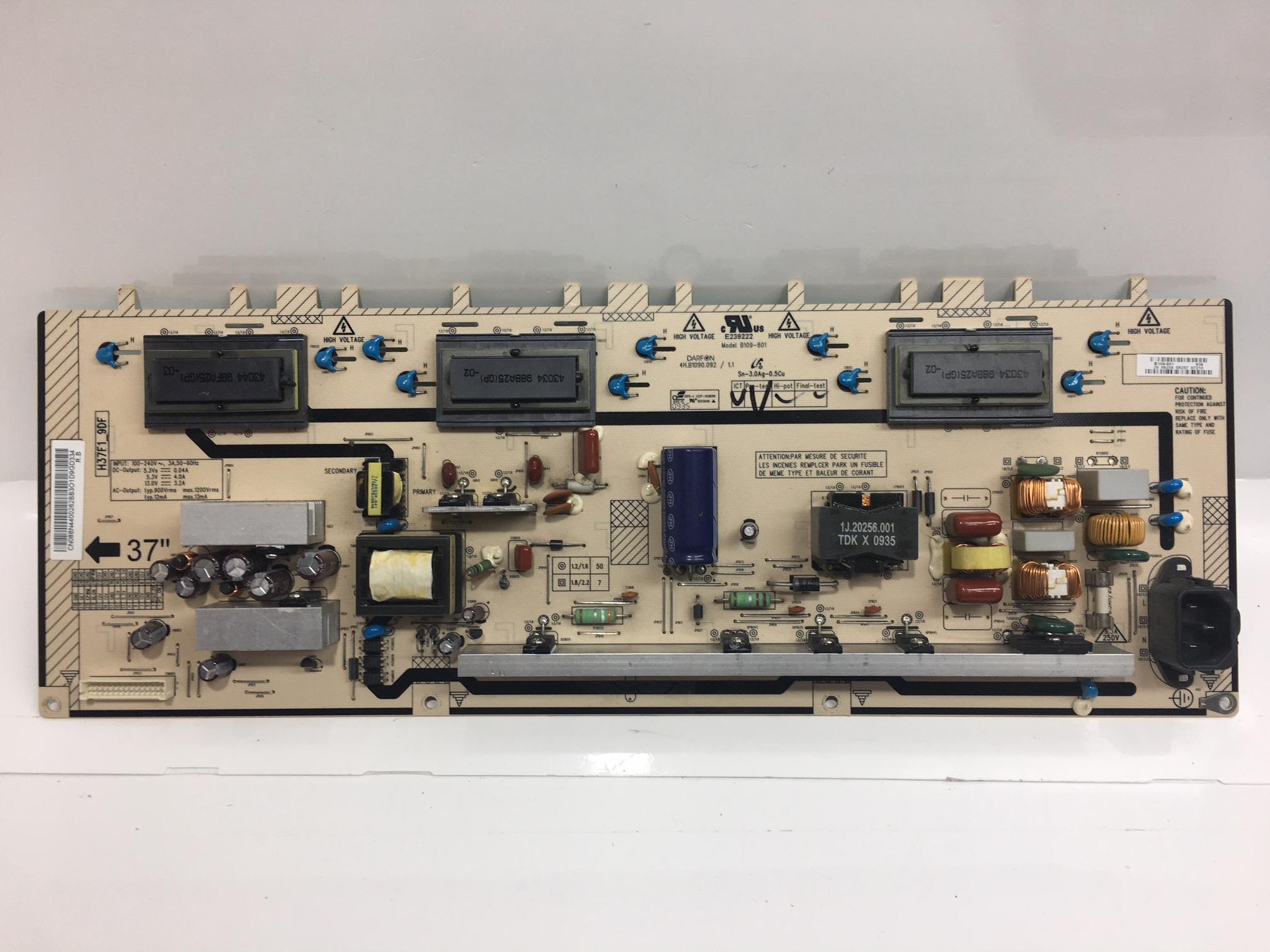 Samsung BN44-00262B Power Supply / Backlight Inverter (same as BN44-00262A)