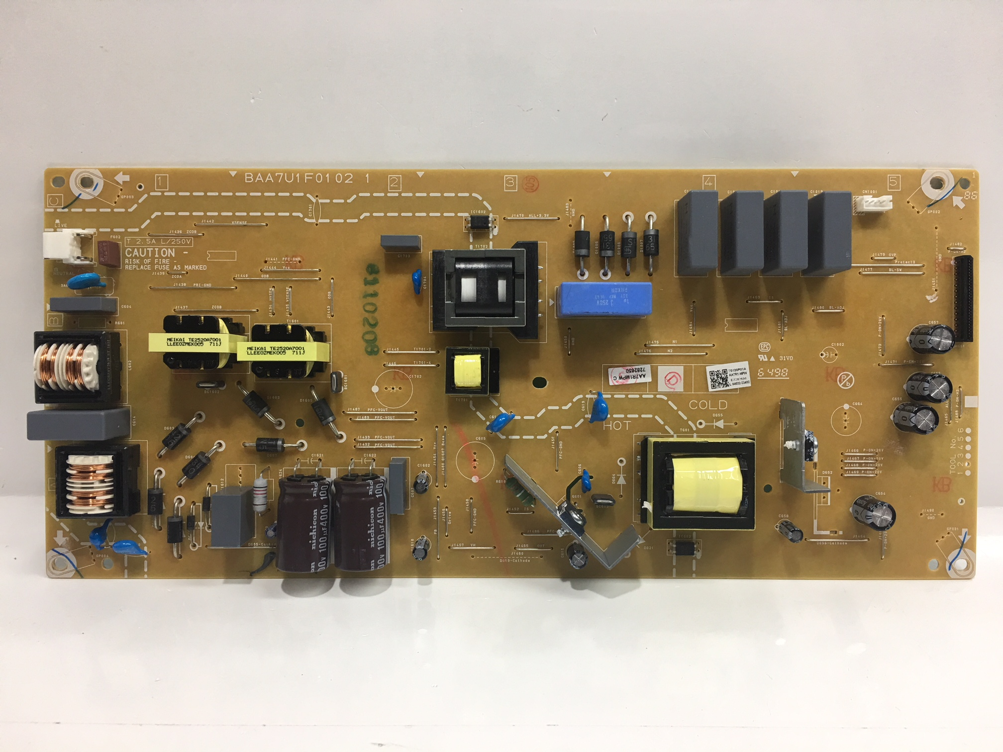 Philips AA7R1MPW-001 Power Supply for 55PFL5602/F7 (DS1 Serial)