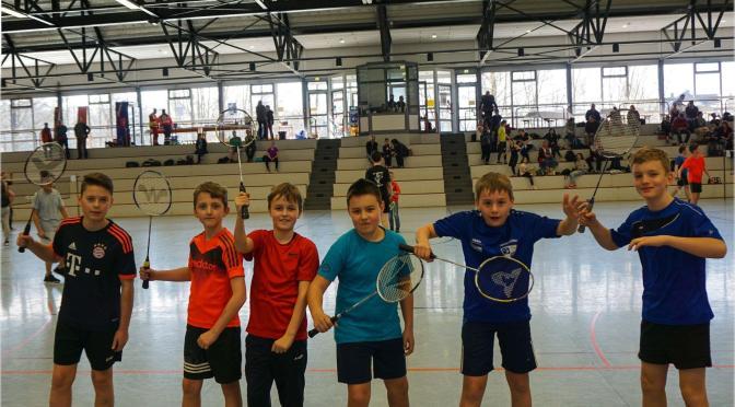 Badminton Jugend siegt beim ersten Turnier