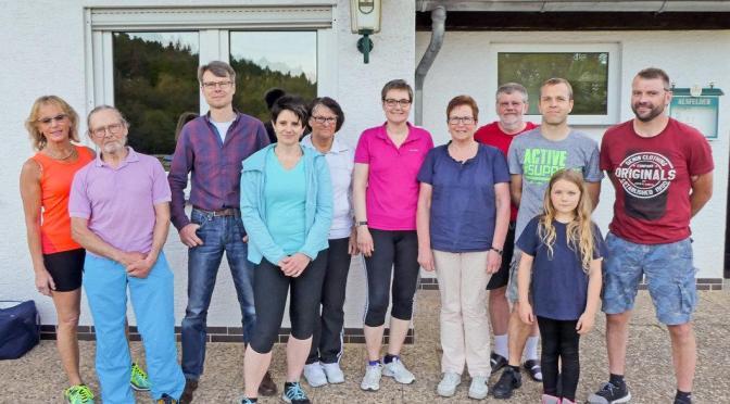 Erfolgreicher Abschluss der Sportabzeichen- Gruppe des TV1862 Homberg