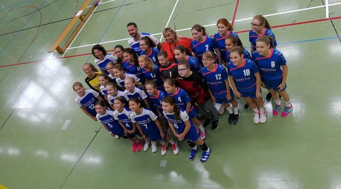 Handballcamp der wJC und wJD