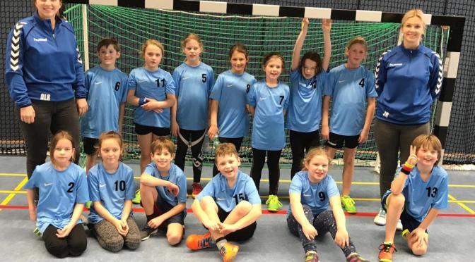 Handball Midis und Maxis im Einsatz