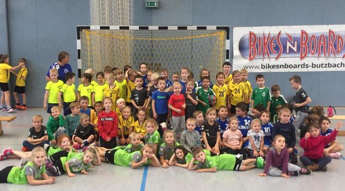 Handball-Turnier der Minis, Midis und Maxis in Butzbach