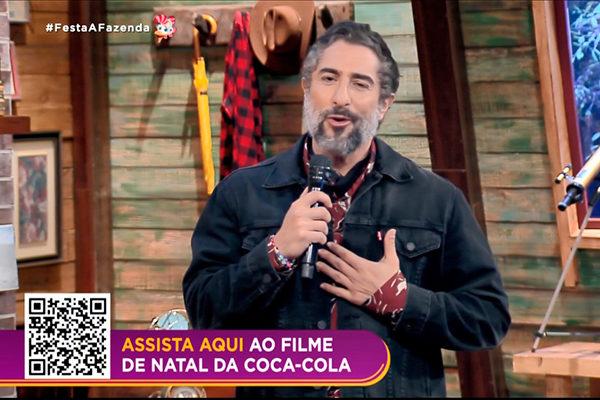 Record erra em merchan da Coca-Cola em A Fazenda e direciona público para  outra marca - TV História