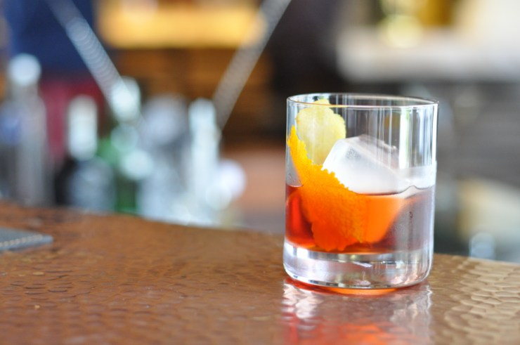 Negroni at Cafe Boulud Palm Beach