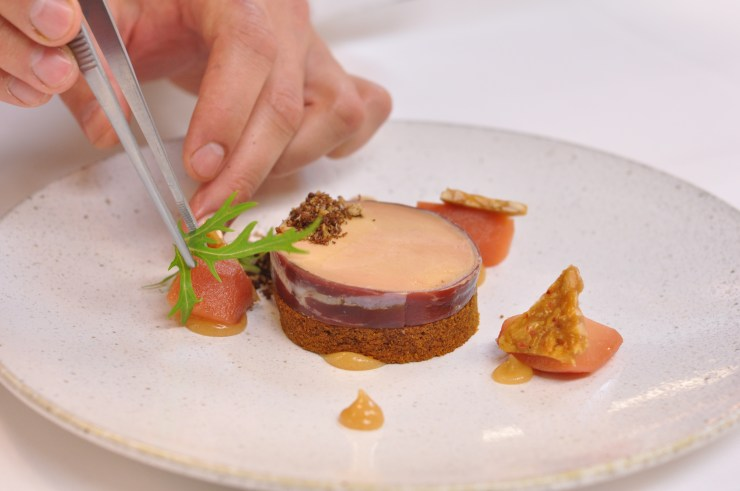 Foie Gras Torchon at Cafe Boulud New York