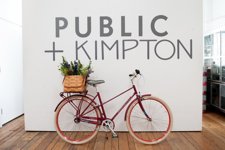 Public Bikes Partnership launch with Kimpton Hotels & Restaurants