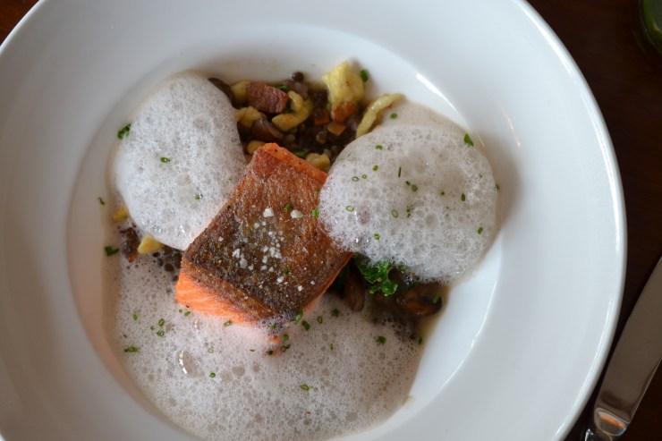Salmon at El Dorado Kitchen Sonoma