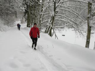 Impressionen Winterlaufserie