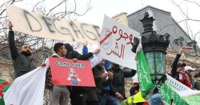 Le boycott par la diaspora algérienne des élections présidentielles.