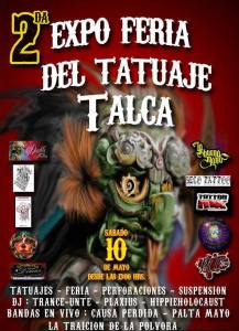 flyer expo tatuajes