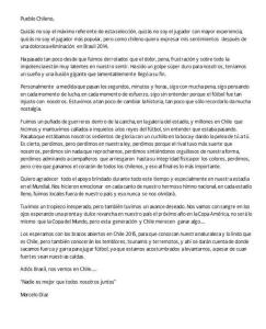 carta de marcelo diaz