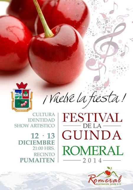 FESTIVAL guinda