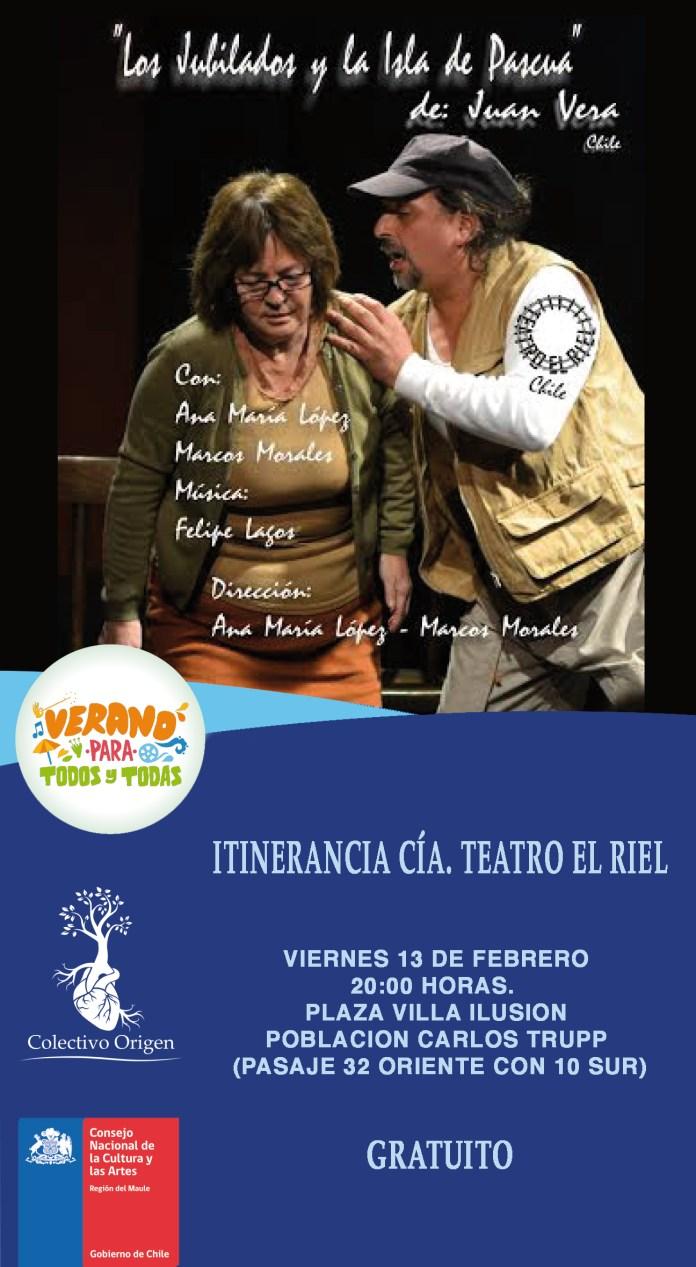 Volante Teatro El Riel