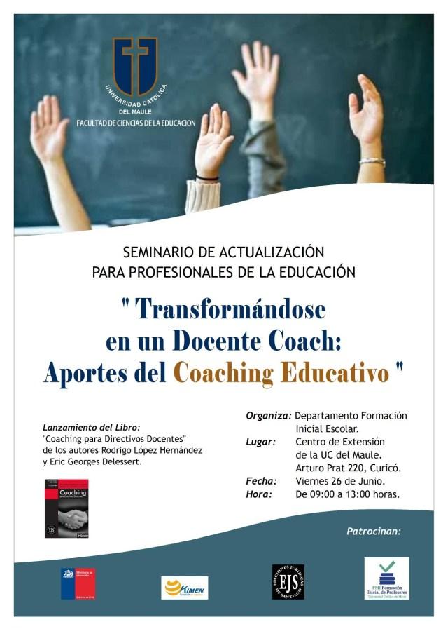 Doc. Afiche Final Seminario Coaching Curicó 2015
