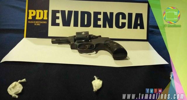 arma evidencia pdi