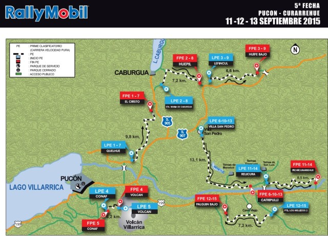 mapa1 rally pucon