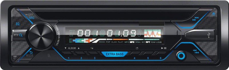 5258 one din fix panel USB MP3 player