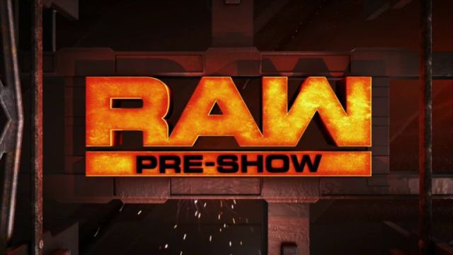 WWE Monday Night RAW Pre-Show