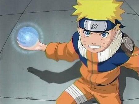 Uzumaki Naruto e Seu Rasengan