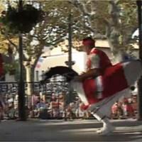 Fête de Mèze 2011, la danse du chevalet