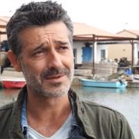"""Stéphane Blancafort en tournage à Mèze pour la série TV de France 3 : """"Tandem"""""""