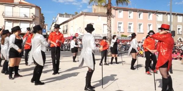 40 ème corso de la ville de Mèze – Le groupe «ID Fiesta»