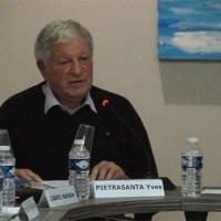Coup de gueule d'Yves Pietrasanta sur la fusion des agglos