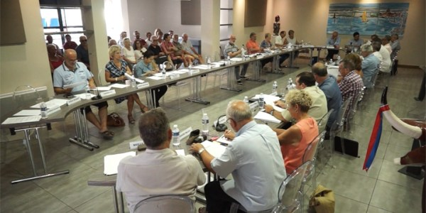 Conseil municipal de la ville de Mèze du 11 juillet 2017