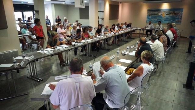 Conseil municipal de la ville de Mèze du 19-09-18 début