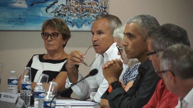 Conseil municipal de la ville de Mèze du 19-09-18 – Election de Thierry Baëza à l'agglo