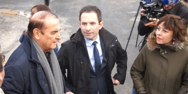 Benoît Hamon dans l'Hérault à la rencontre des ostréiculteurs du Bassin de Thau