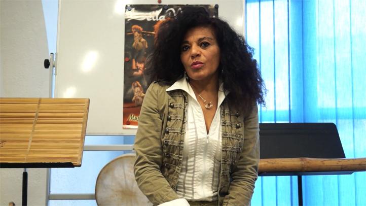 Leila Negrau, une artiste de l'île de la Réunion à l'île Singulière