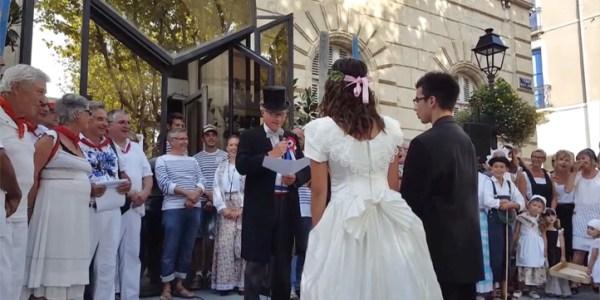 Mariage 1900 au Bouletchou de Mèze – 2017