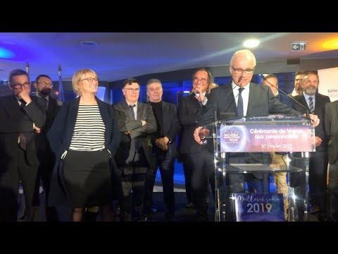 Monique Teyssier et le Festival de Thau à l'honneur ! Voeux de Sète Agglopôle Méditerranée 2019
