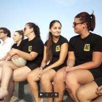 """Les """"Rosé Noir"""" l'équipe féminine du Rugby Club Mézois"""