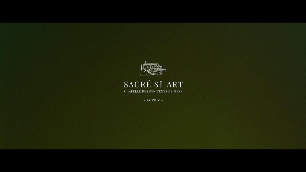 Sacré St art ACT V 2020