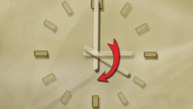 стрелките на часовника