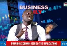 Business Daily Burning Economic Issue & The Implications