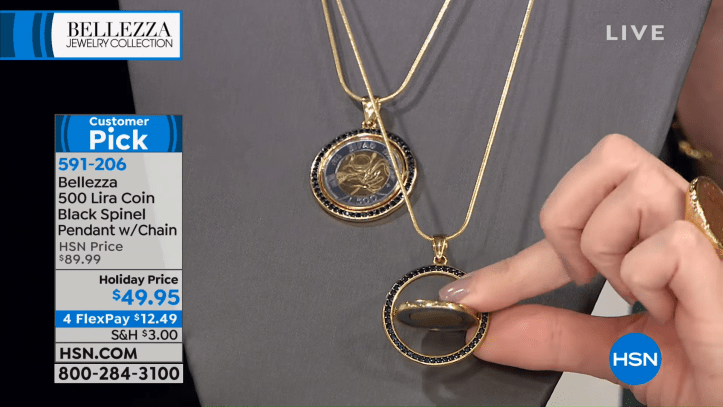 HSN _ Bellezza Jewelry Collection Gifts 10.18.2018 - 06 AM 56-57 screenshot