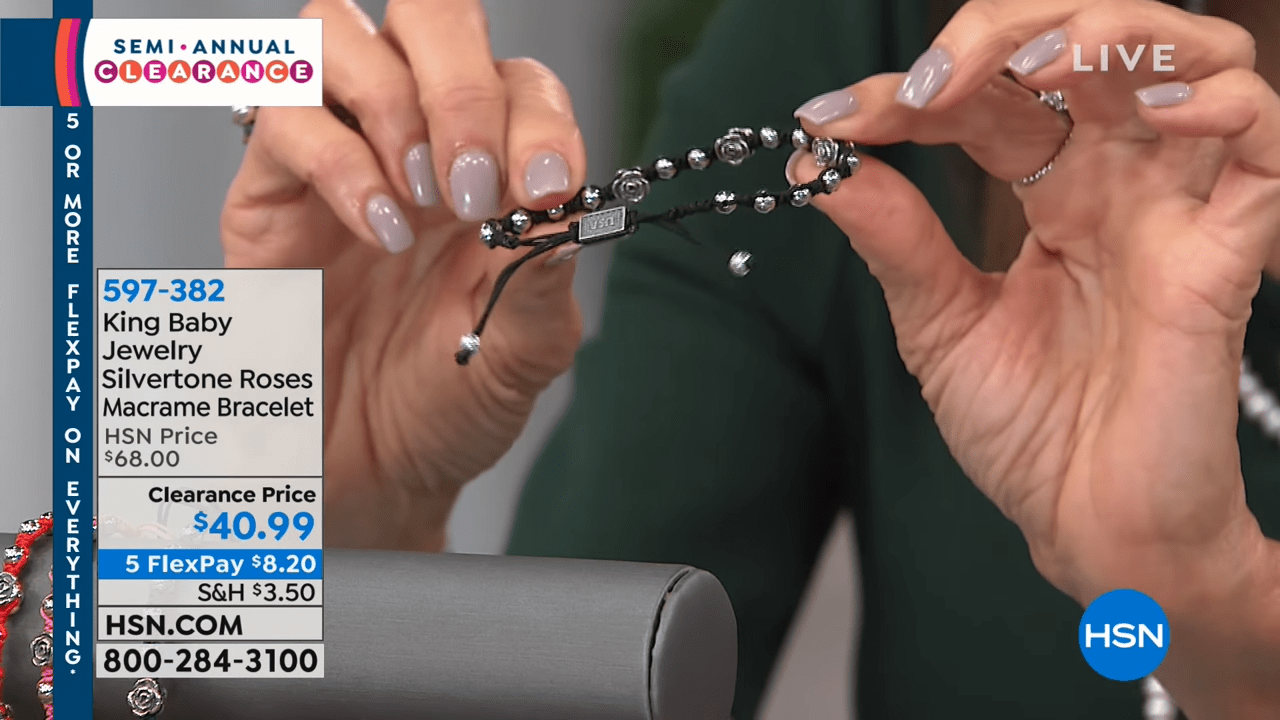 HSN _ Jewelry Clearance 12.24.2018 - 10 AM 1-18 screenshot