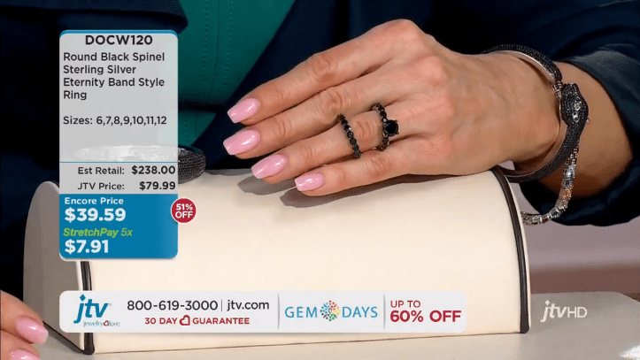jewelry television live stream 11-22-50 screenshot
