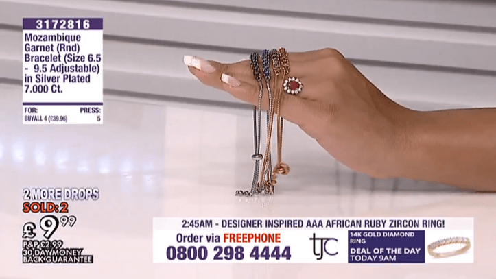 tjc live - explore jewellery, beauty, lifestyle, fashion products & gift ideas, online in uk europe 9-5-54 screenshot