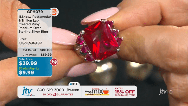 Jewelry Television Live Stream 13-21-45 screenshot