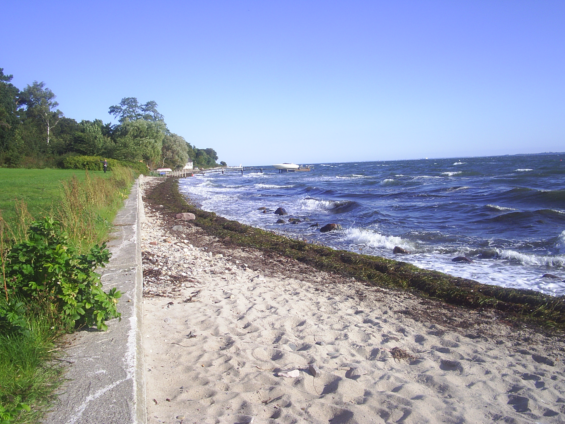 Skodsborg Beach, Øresund, 15 km north of Copenhagen